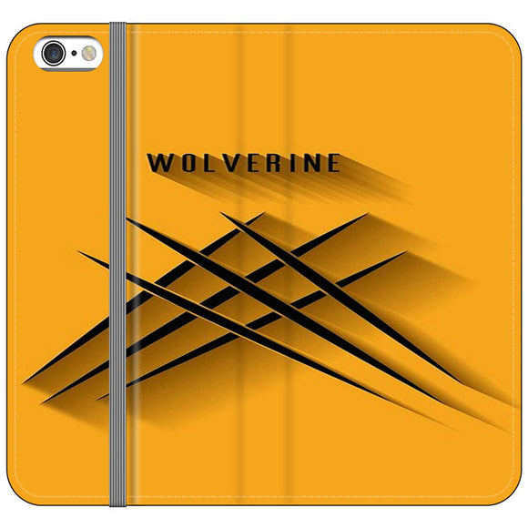 Wolverine 3D iPhone 6 Plus|6S Plus Flip Case | Frostedcase