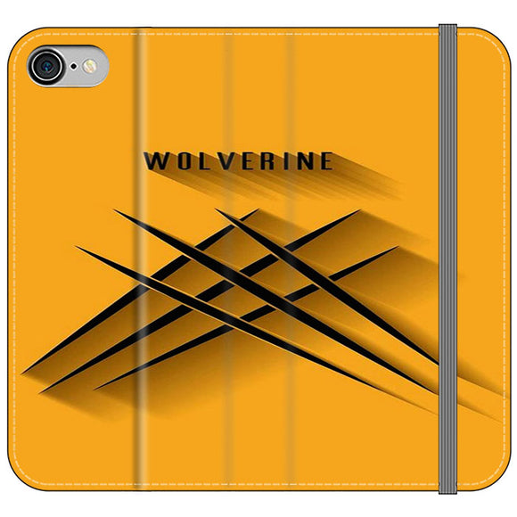 Wolverine 3D iPhone 8 Flip Case | Frostedcase