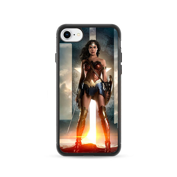 Wonder Woman Gal Gadot iPhone 8 Case | Frostedcase