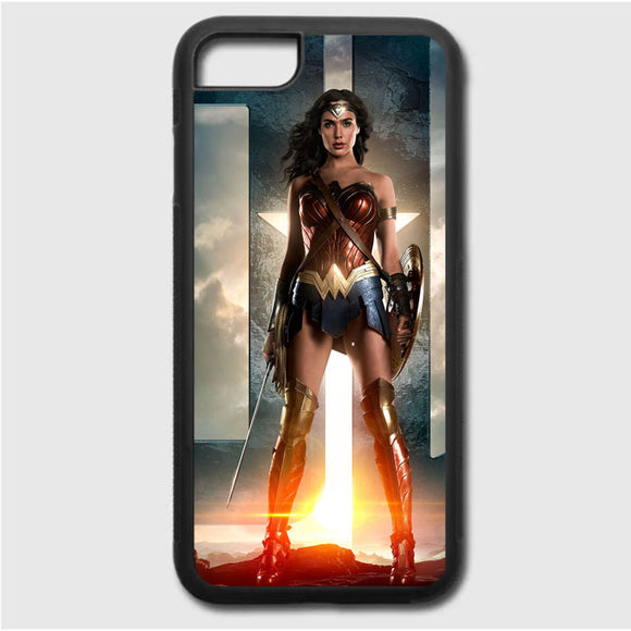 Wonder Woman Gal Gadot iPhone 7 Case | Frostedcase