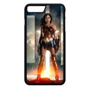 Wonder Woman Gal Gadot iPhone 7 Plus Case | Frostedcase
