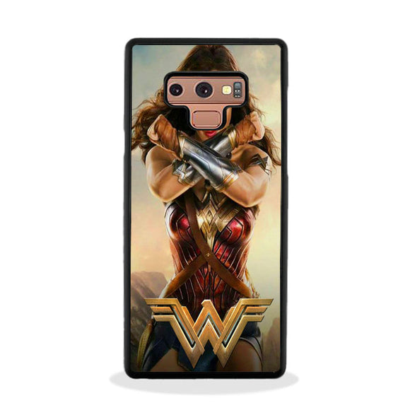 Wonder Woman Justice League Comic Art Samsung Galaxy Note 9 Case | Frostedcase