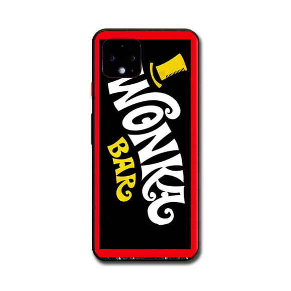 Wonka Chocolate Bar With Golden Ticket Google Pixel 4 Case | Frostedcase