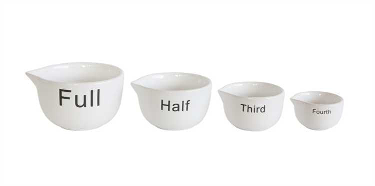 White Batter Bowl Measuring Cups