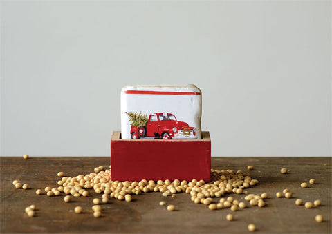 Red Truck Coasters