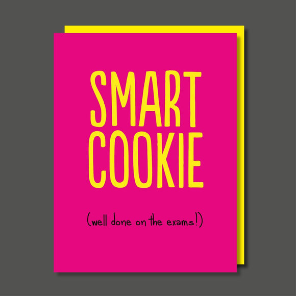 Smart Cookie Exams Greeting Card