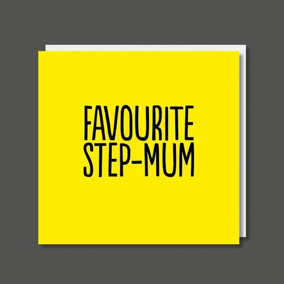 Favourite Step-Mum Birthday / Mother's Day Card