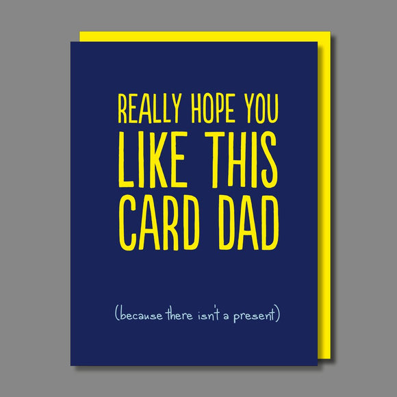 Hope You Like This Birthday / Father's Day Card