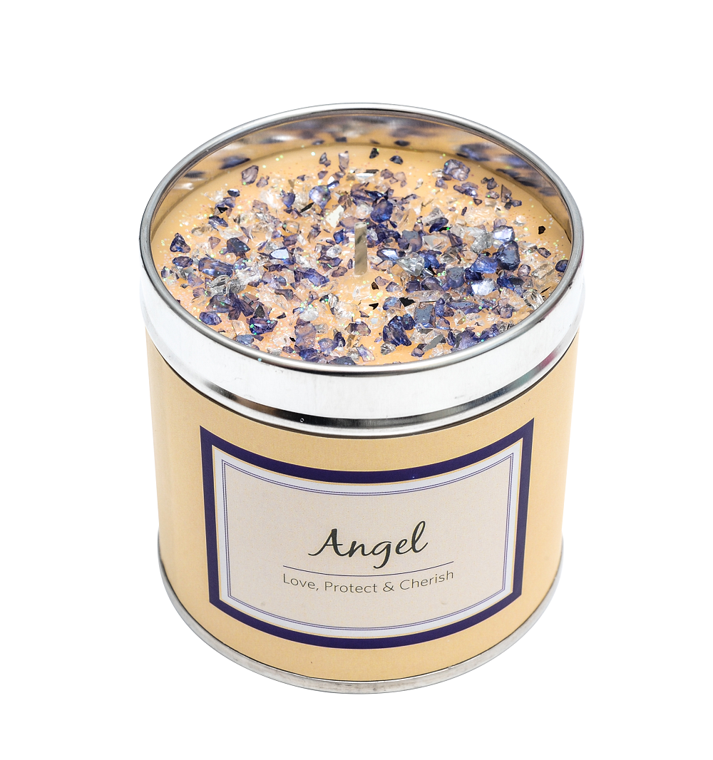 Angel Scented Candle Tin