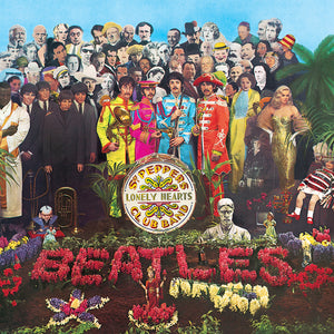 The Beatles Album Cover Sgt. Pepper's Lonely Hearts Club Band Birthday / Greeting Card
