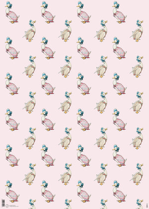 Jemima Puddle Duck Beatrix Potter Gift Wrap Wrapping Paper