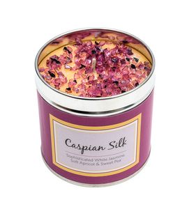 Caspian Silk Scented Candle Tin