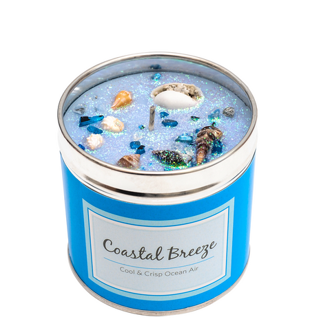 Coastal Breeze Scented Candle Tin