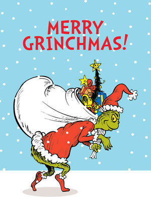 Merry Grinchmas The Grinch Dr Seuss Christmas Card