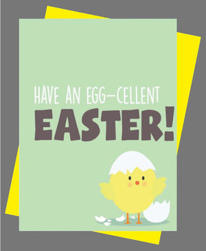 Have An Egg-cellent Easter Card