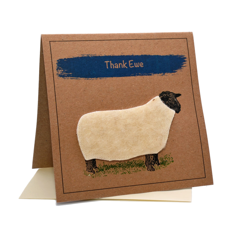 Sheep (Thank Ewe) Thank You Card