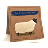 Sheep (Ewe Are The Flocking Best) Greeting / Birthday Card