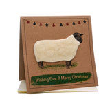 Sheep (Wishing Ewe A Merry Christmas) Card