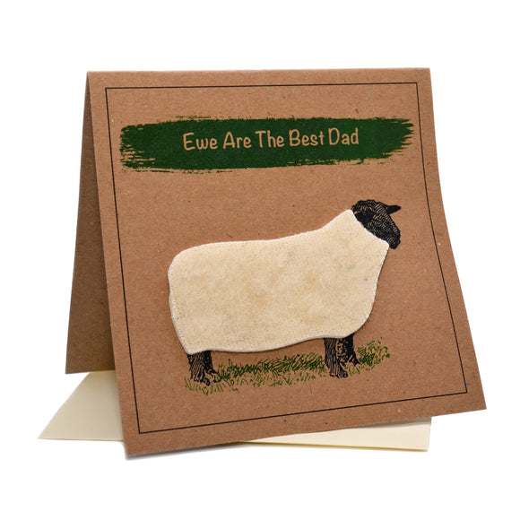 Sheep (Ewe Are The Best Dad) Birthday / Father's Day Card