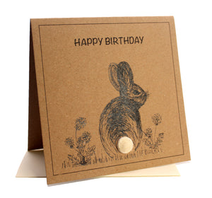 Bunny (Happy Birthday) Birthday Card