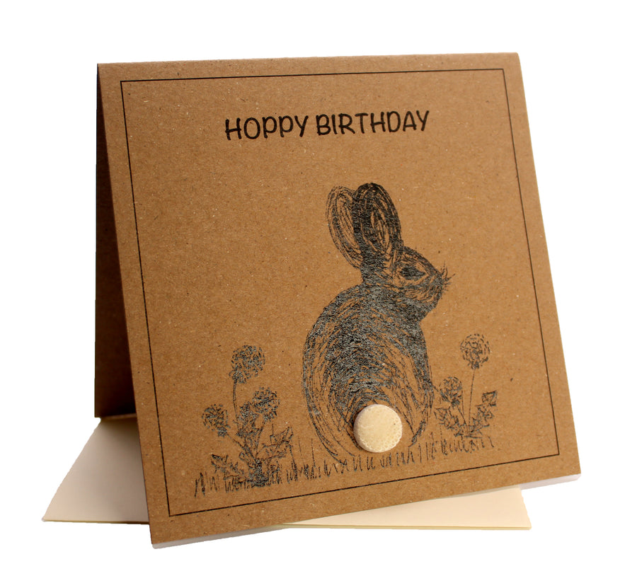Bunny (Hoppy Birthday) Birthday Card