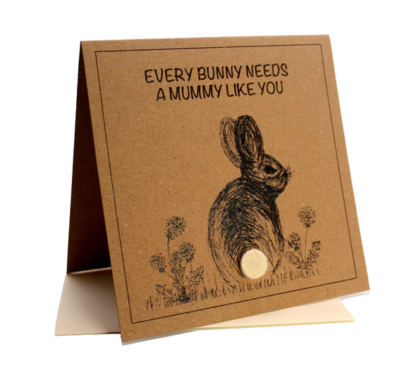 Bunny (Every-Bunny Needs A Mum Like You) Mother's Day / Birthday Card