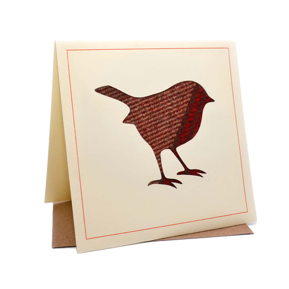 Robin Tweed Fabric Christmas Card