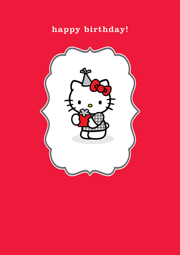 Happy Birthday Hello Kitty Birthday Card