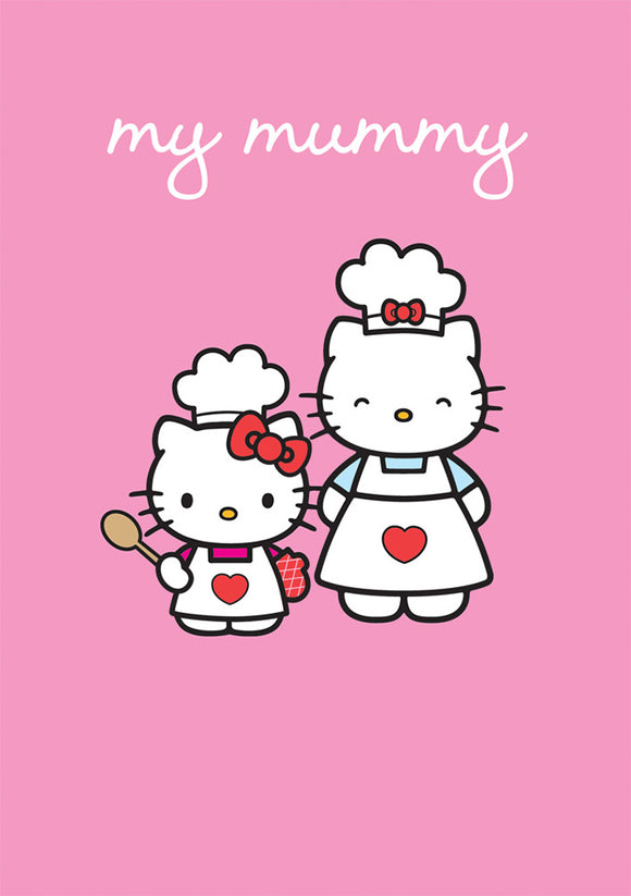 My Mummy Hello Kitty Birthday Mothers Day Card