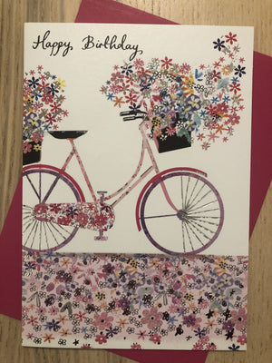 Bike Bicycle / Happy Birthday / Birthday Card