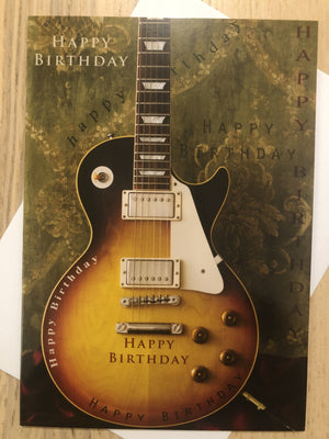Guitar Music / Happy Birthday / Birthday Card