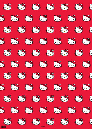 Hello Kitty Gift Wrap Wrapping Paper