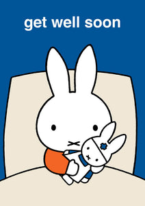 Miffy Get Well Soon Greeting Card