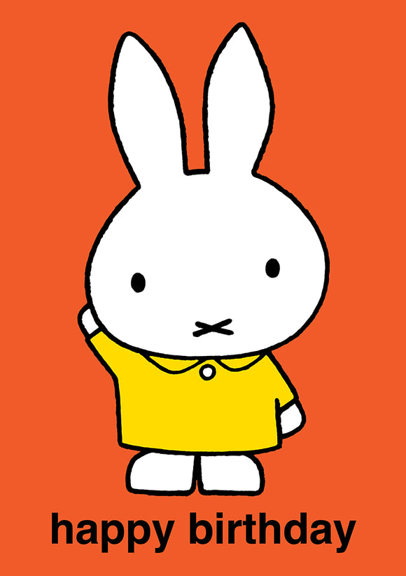 Happy Birthday Miffy Birthday Card