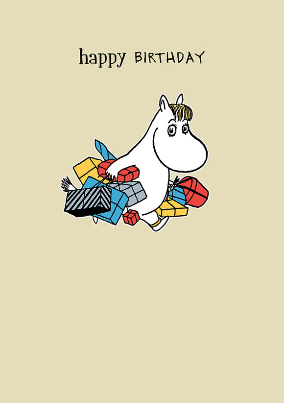 Happy Birthday Moomins Birthday Card