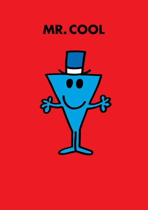 Mr Cool Mr Men / Little Miss Birthday Greeting Card