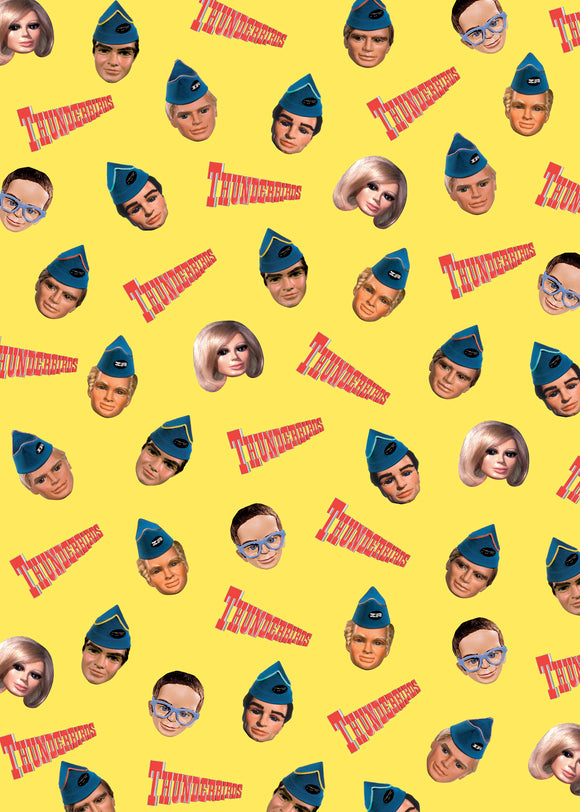 Thunderbirds Gift Wrap Wrapping Paper