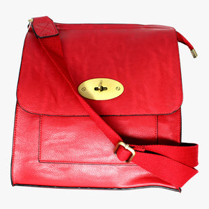 Across-body Oval Clasp Bag