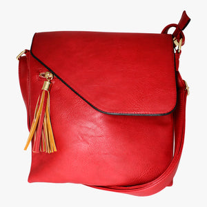 Across-body Tassel Bag