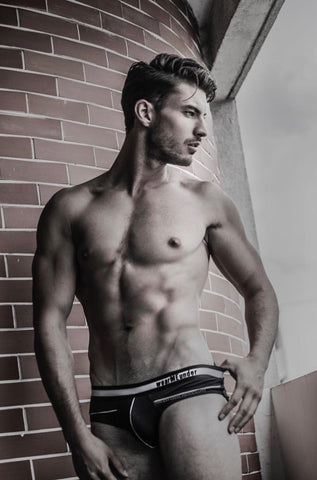 Vincent Chine shot for wearMEunder limited edition underwear for men