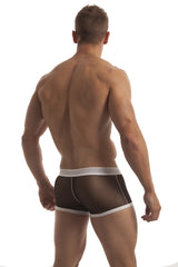 The BRAD Black Trunk by wearMEunder Limited Edition underwear for Men