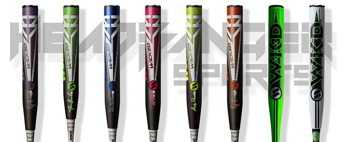 2019 Worth Slowpitch Softball Bats