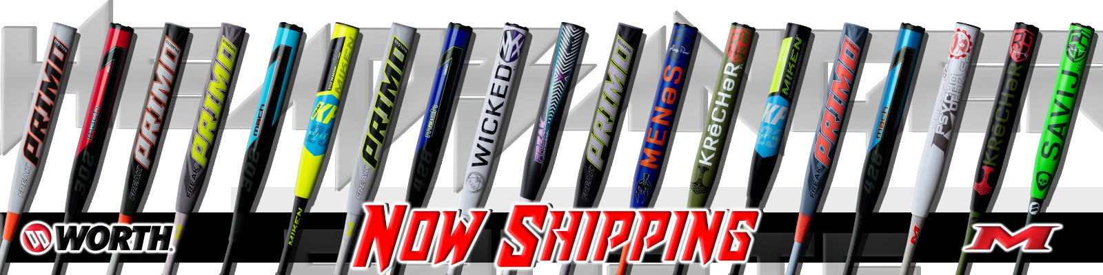 Miken and Worth Slowpitch Softball Bats