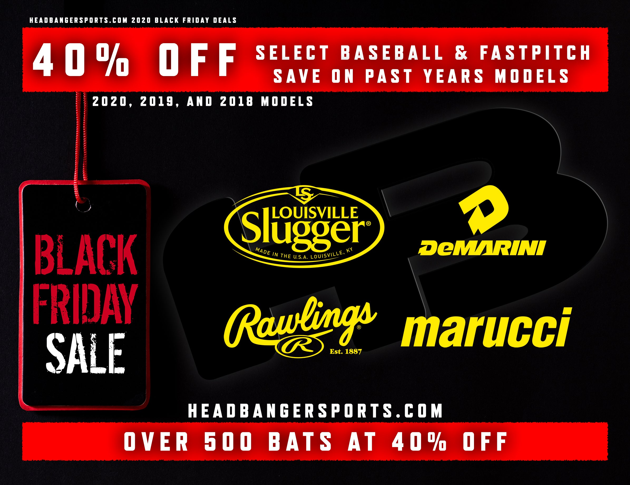 Baseball and Softball Bat Black Friday Sale