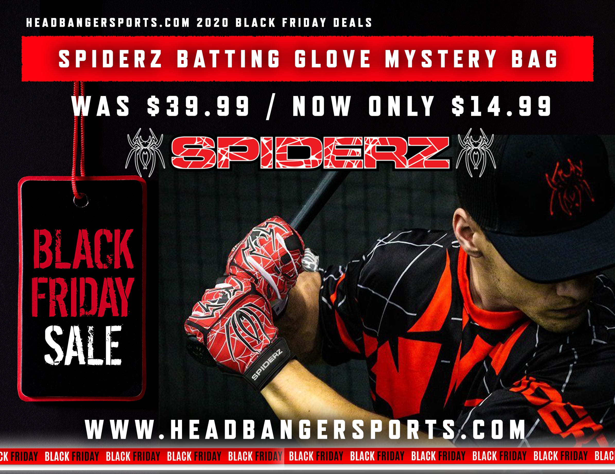 Spiderz Batting Gloves Sale