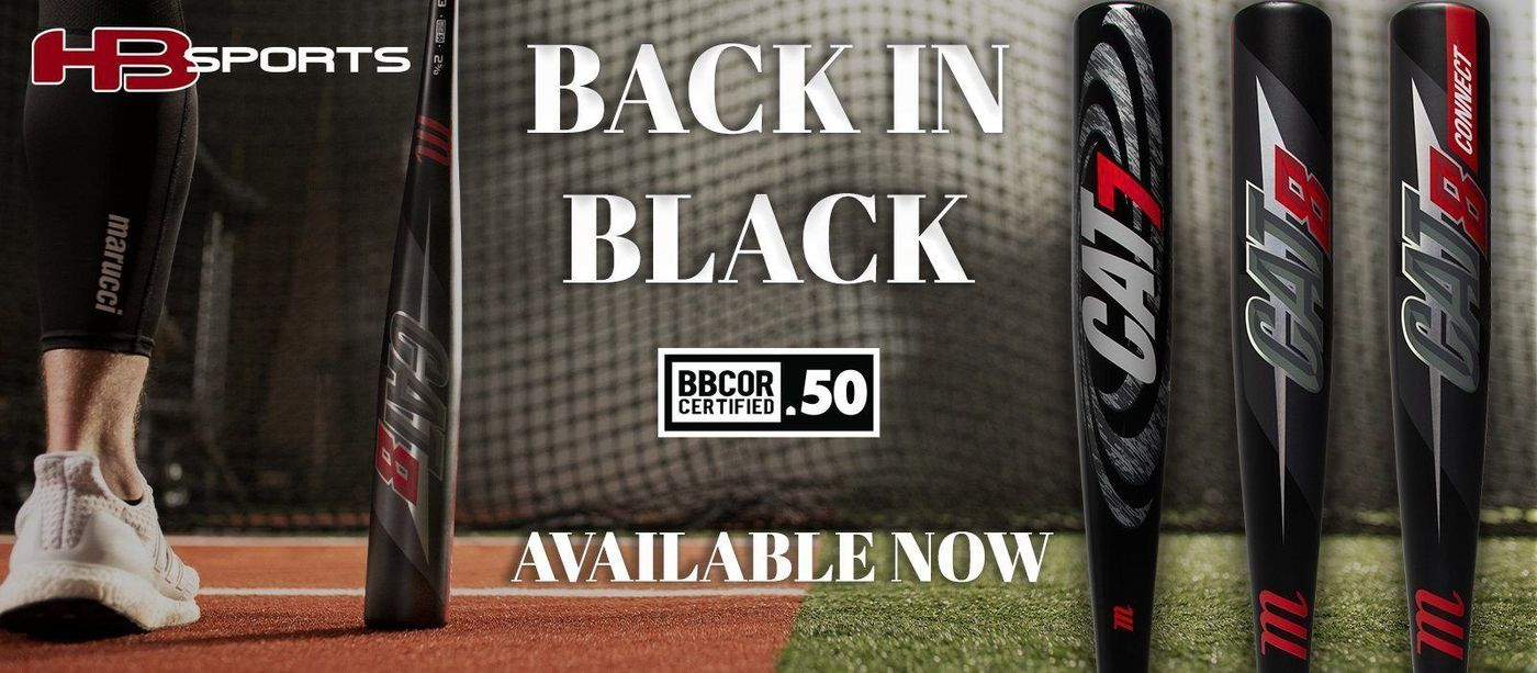 Shop Marucci Cat Black Baseball Bats