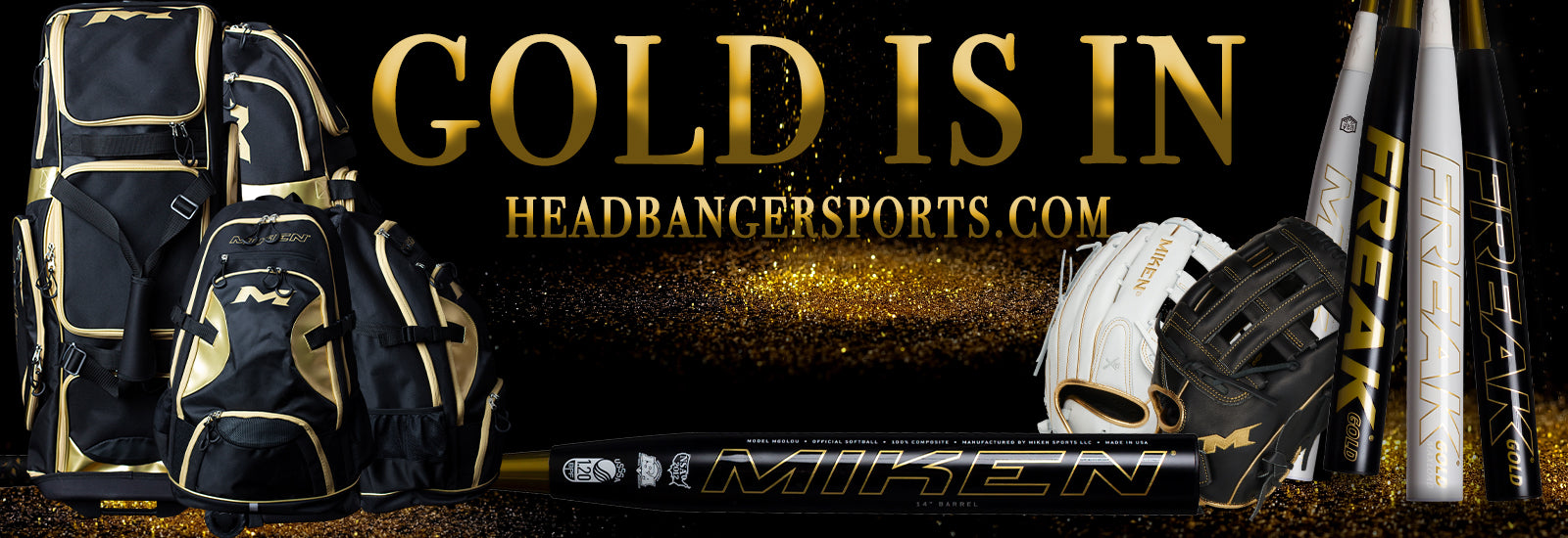 Miken Freak Gold Series Limited Edition Series