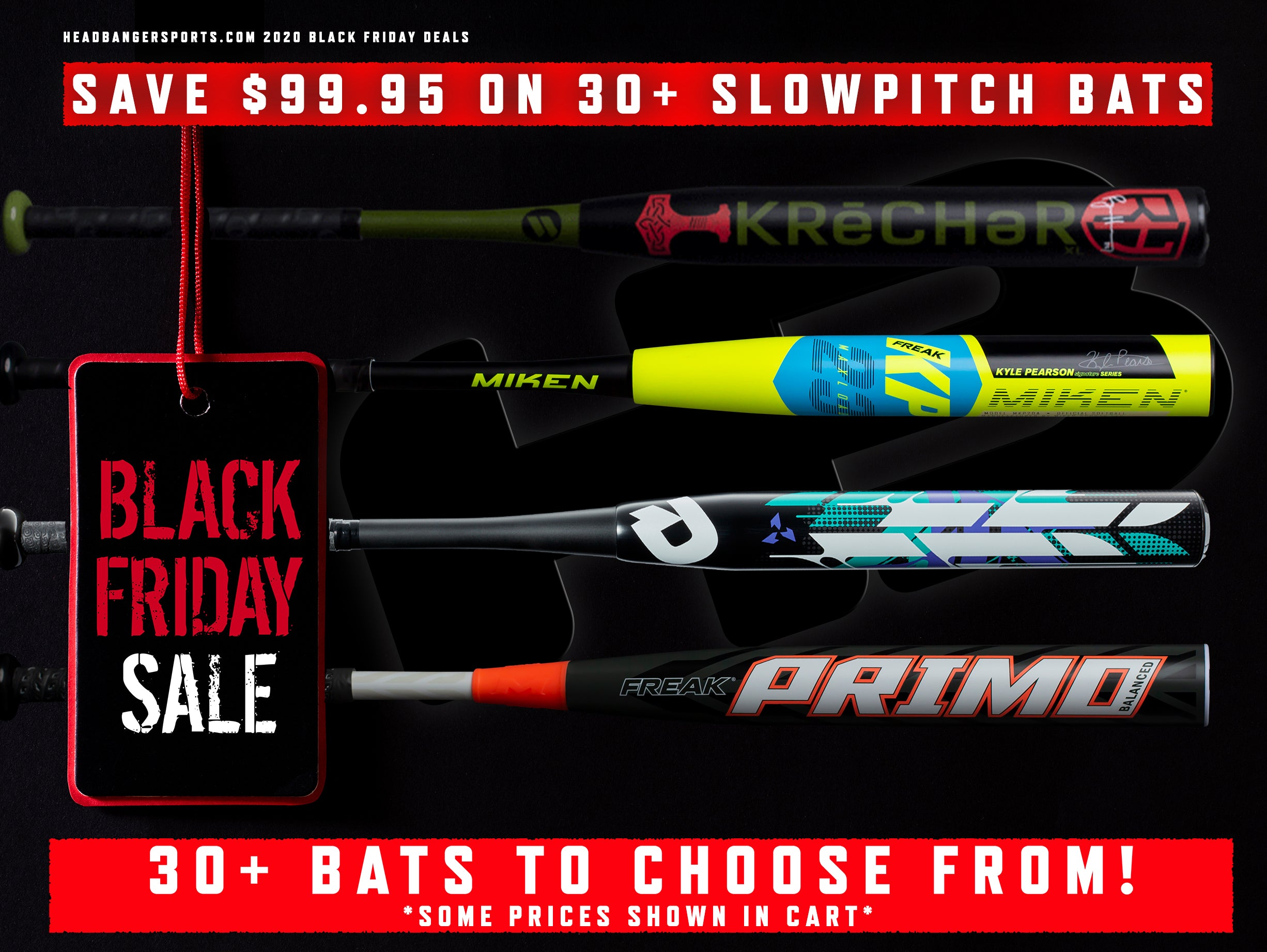 Black Friday Softball Bat Sale
