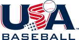 USA Baseball Stamp Logo
