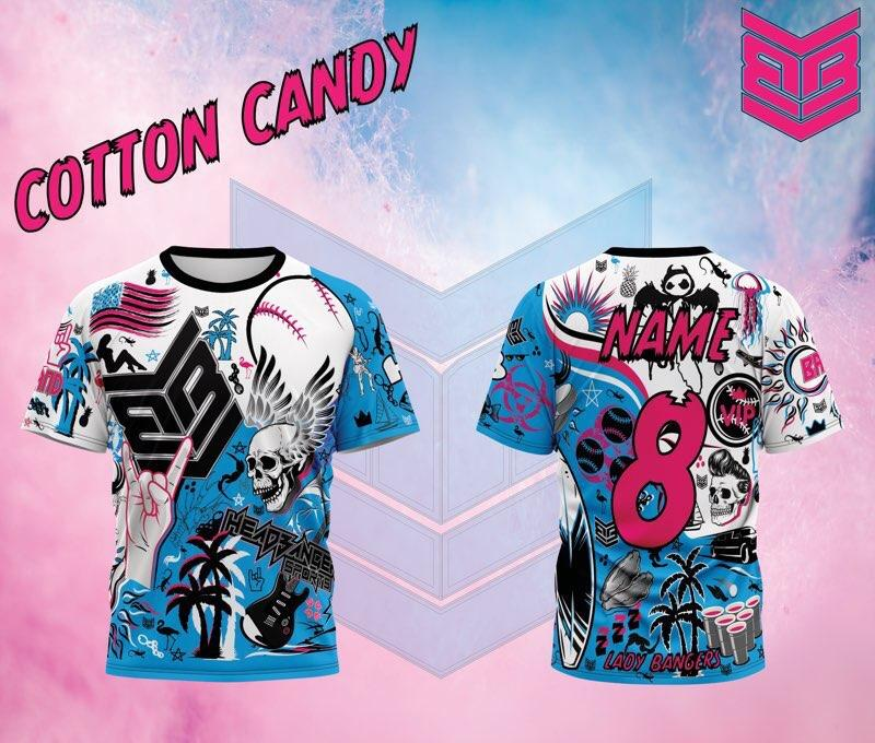 "Banger Brand / HB Sports ""Rep Appreciation"" Custom Short Sleeve Jersey Buy In: Cotton Candy"